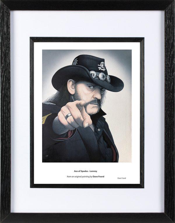 Lemmy Ace of Spades Framed